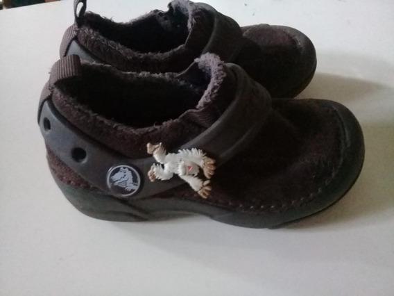 diseño unico selección asombrosa elegir original Zuecos Crocs Invierno Piel - Calzado en Mercado Libre Argentina