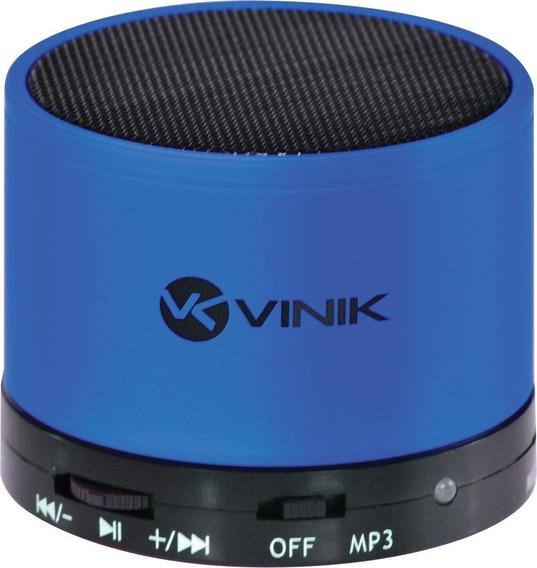 3 Caixas De Som Portateis Bluetooth/fm Vinik Cores Sortidas