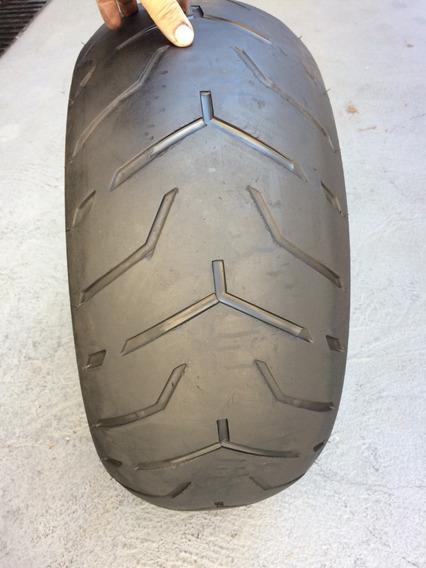 Pneu 240/40/18 Dunlop D407 Harley Davidson Usado Bom V-rod