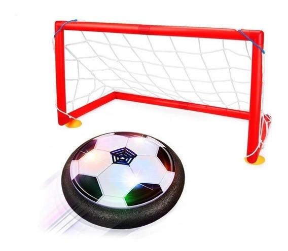 Juego Soccer Futbol Balon Flotante Porterias Hover Ball /e