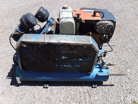 Compresor De Aire A Gasolina Motor Honda Gx240 8 Hp Movil