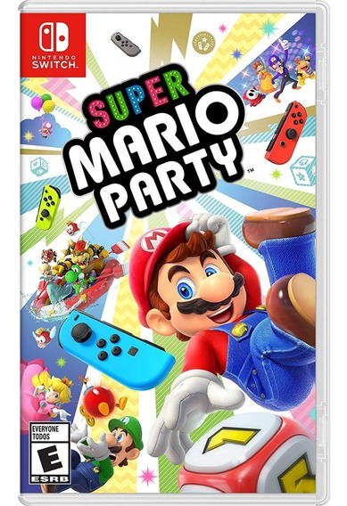 Super Mario Party - Switch Lacrado