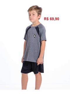 Camisa Infantil Botafogo Oficial Braziline