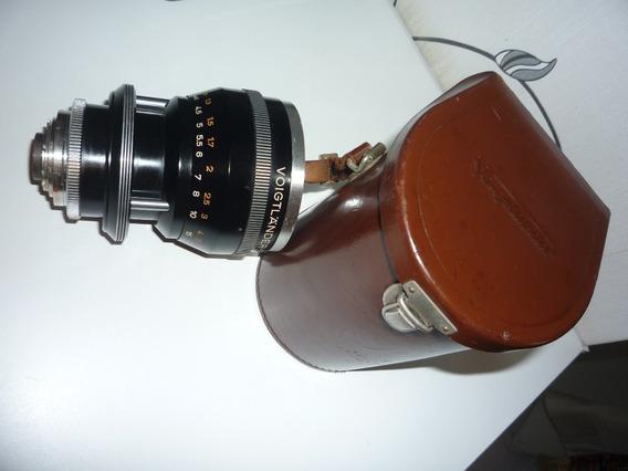 Lente Voigtlander Zoomar - Dkl - 36-82mm/2.8 - Rara