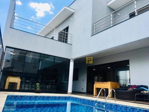 Casa Com 3 Dormitórios À Venda, 407 M² Por R$ 1.900.000,00 - Loteamento Residencial Jardim Dos Ipês Amarelos - Americana/sp - Ca0968