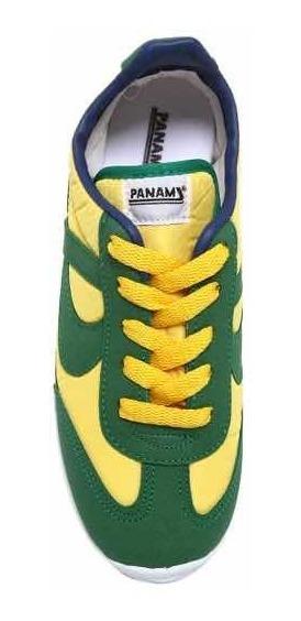 Tenis Panam Jogger - Amarillo Y Verde