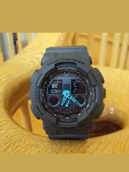 Relogio Casio G Shock 100c-8acr (leia A Descrição)