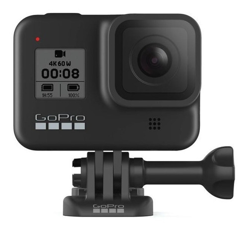 Camera De Ação Gopro Hero 8 Black 12mp 4k Lacrado