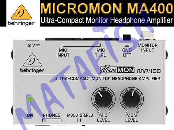 Amplificador De Audifonos,micromon,behrniger,estudio,audio
