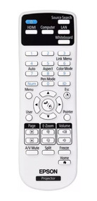 Controle Remoto Projetor Epson S17 / S18+ / X24+