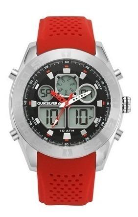 Relógio Quiksilver - Modelo The Fifty50 (vermelho)