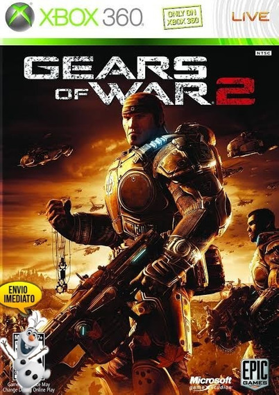 Gears Of War 2 Xbox 360/one 25 Dígitos (ice Games)