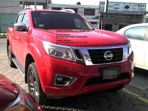 Nissan Frontier 2017 Dob/cab Dissel 4x4 Piel 3.2 Eng $