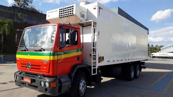 Mb 1728 Truck Bau Refrigerado