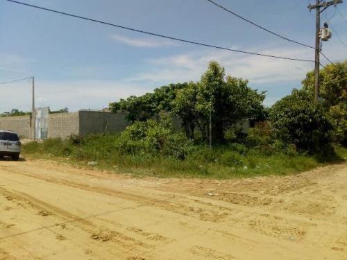 Terreno De Esquina Santa Cruz, Em Itanhaém, Ref. C0735 L C