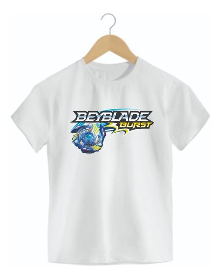 Camiseta Infantil Beyblade Mod03