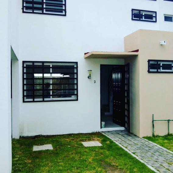 Exclusiva Casa En Fraccionamiento De 10 Viviendas