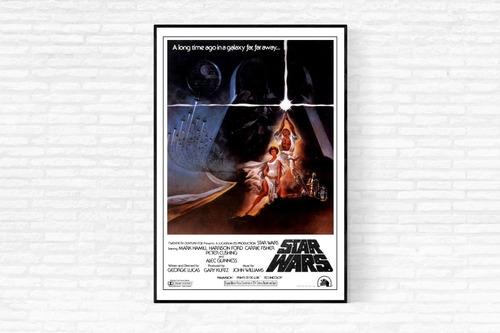 Star Wars - A New Hope (1977) Poster - (digital)