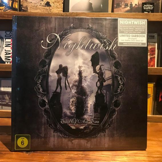 Nightwish End Of An Era Earbook Bluray 2 Cds 3 Vinilos