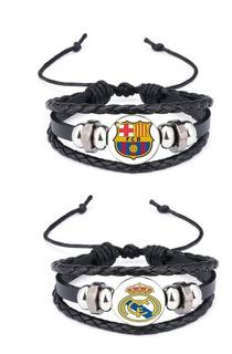 Pulsera Fútbol Champions Moda Barcelona Real Fifa Mayoreo