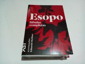 Livro Esopo Fábulas Completas Cosac