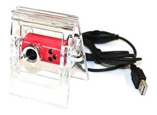 Cámara Web Kanji Kj-338 Usb 2.0 Boton Captura 80cm De Cable