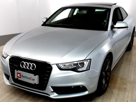 Audi A5 Coupê 2.0 Tfsi Quattro Stronic - Prata - 2013