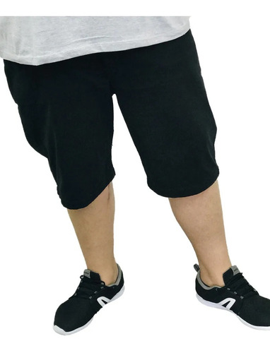 Imagem 1 de 4 de Bermuda Jeans Masculina Colorida Com Lycra Plus Size Tamanho Grande Plus Size Pronta Entrega Perfeita Top