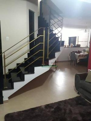 Sobrado Com 4 Dormitórios À Venda, 280 M² Por R$ 640.000 - Esplanada Independência - Taubaté/sp - So0447