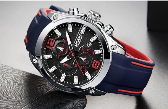 Relógio Megir Chronograph Esportivo
