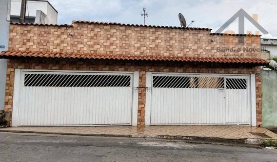 Casa Térrea Com 3 Dormitórios E Edícula À Venda, 188 M² Por R$ 390.000 - Cidade Aracilia - Guarulhos/sp - Ca0118