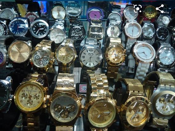 Kit Com 10 Relógios Masculinos Atacado + 10 Caixinhas