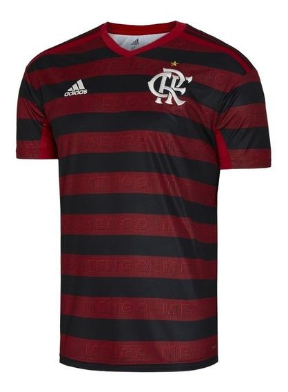Camisa Flamengo Rubro Negra Masculina - Envio Em 24h