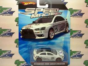 Mitsubishi 2008 Lancer Evolution Hot Wheels Speed Machines