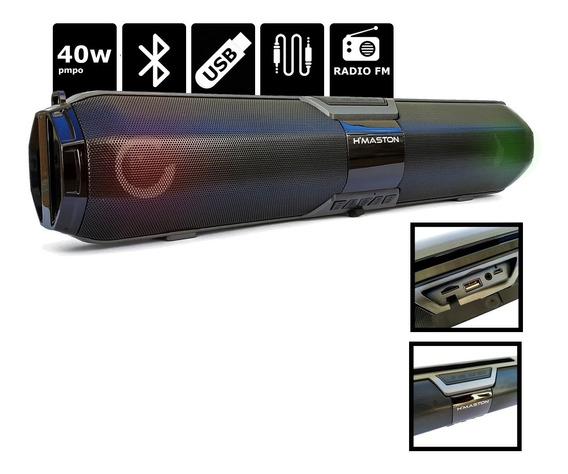Soundbar Hmaston Sound Bar Profissional Com Garantia