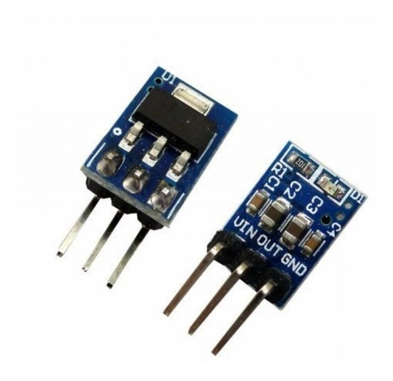 4x Peças Modulo Regulador Tensão Ams1117 De 4.5v-7v P 3.3v