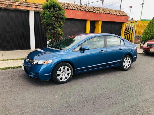Imagen 1 de 15 de Honda Civic 2010 D Lx Sedan 5vel Mt