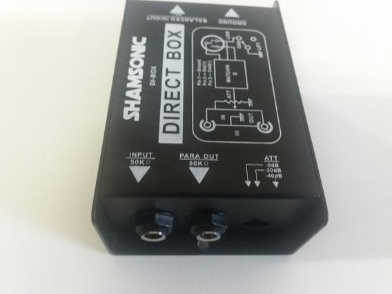02 Direct Box Shansonic Igual Di400p Di Behringer,passivo