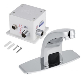 Llave Automatica Lavamanos Mezcladora Sensor Infrarrojo Crom