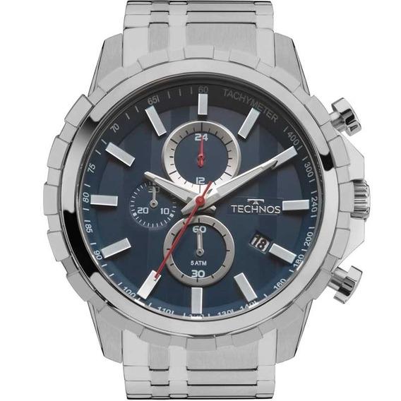 Relógio Technos Dourado Skymaster Js15fc