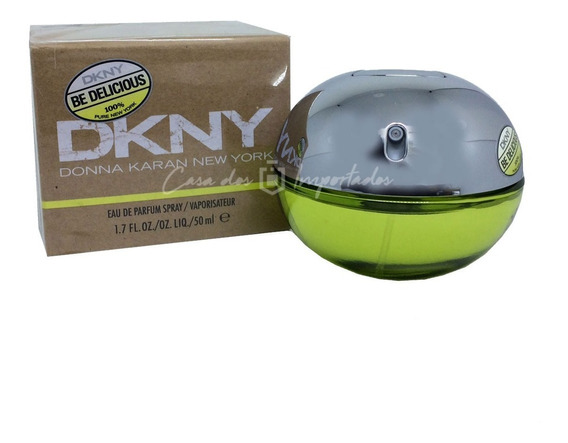 Dkny Be Delicious Edp 50ml Feminino | Original + Amostra De Brinde