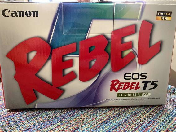 Kit Canon Rebel Eos T5