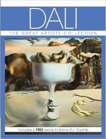 Salvador Dali Great Artists Collection - C 6 Fotos P Emoldur