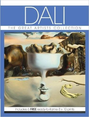 Salvador Dali Great Artists Collection - C 6 Fotos P Emoldur