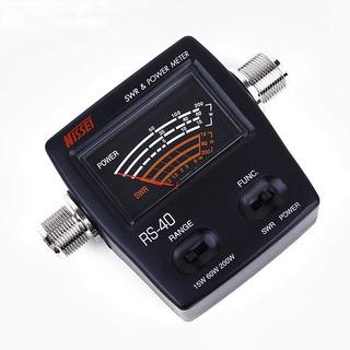 Wattimetro E Medidor Estacionaria Nissei Analogico Rs-40
