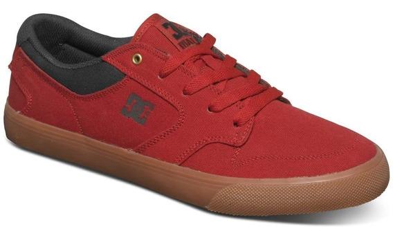 Tênis Dc Shoes Nyjah Vulc Tx Adys300094-red Vermelho