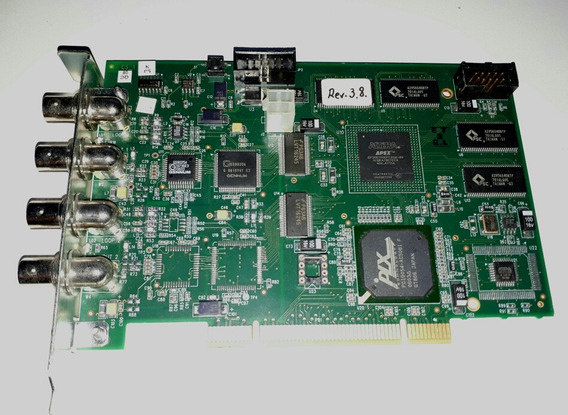 Placa De Captura Quand Pci Grab32 Rev:-2 De Vídeo