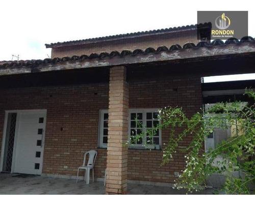 Casa Com 5 Dormitórios À Venda, 270 M² Por R$ 650.000 - Cibratel Ii - Itanhaém/sp - Ca1172