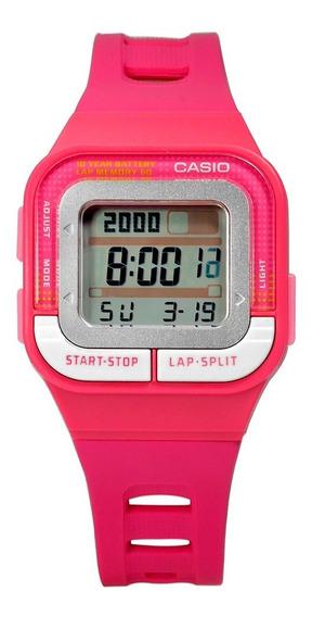 Relogio Casio Digital Esportivo Feminino Sdb-100 Rosa