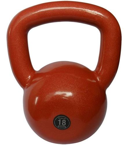 Kettlebell Emborrachado Treinamento Funcional Fitness 18,0kg